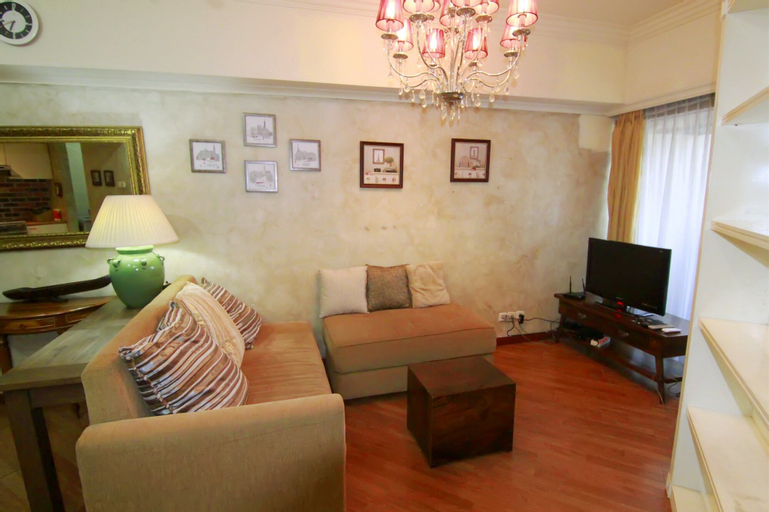Cozy 2 Bedrooms Sudirman Tower Apartment by Travelio, South Jakarta