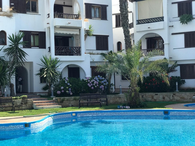 Apartment With 2 Bedrooms in Cabo Negro, With Shared Pool, Furnished Terrace and Wifi - 150 m From the Beach, Tétouan