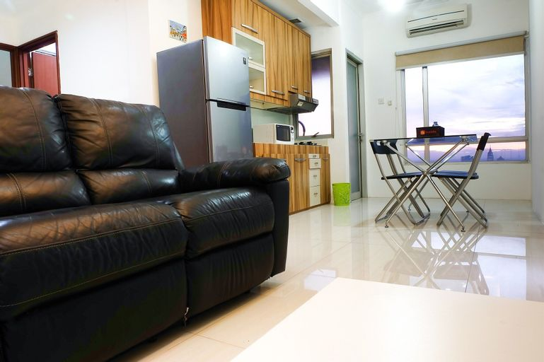 Strategic Location 2 Bedroom Sudirman Park By Travelio, Central Jakarta