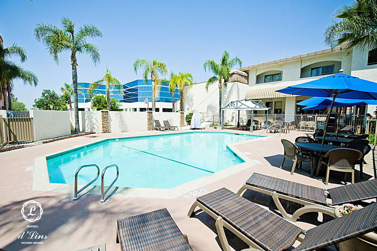 Hotel d'Lins Ontario Airport, San Bernardino