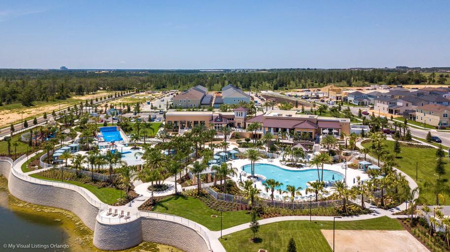 Solara Resort - 1829 Caribbean View Terrace, Osceola