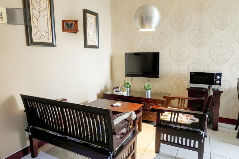 Homey 2BR Apartment at Mediterania Marina Residence, North Jakarta