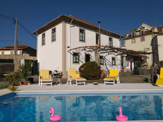 Villa With 4 Bedrooms in S. Vicente de Pereira , With Private Pool, Enclosed Garden and Wifi - 12 km From the Beach, Ovar