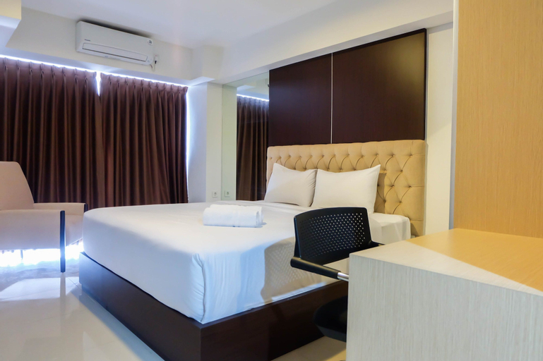 Modern 1BR Apartment at H Residence By Travelio, East Jakarta