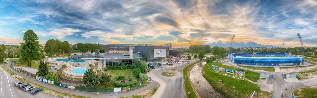 Hotel Aquacity Riverside, Poprad