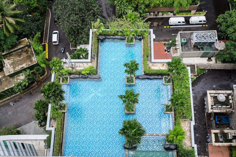 Cozy 2BR Sahid Sudirman at Central Area, Central Jakarta