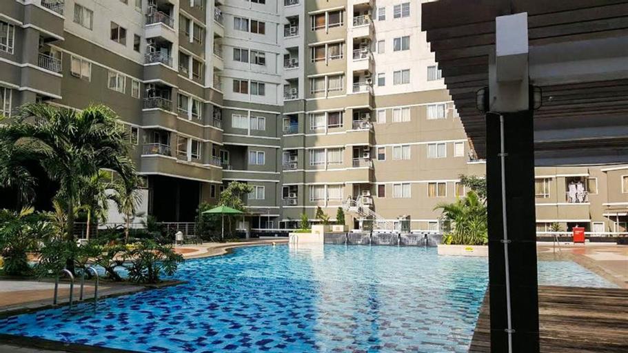 Cozy 2BR Sudirman Park Apartment, Central Jakarta