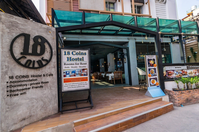 18 Coins Cafe & Hostel, Pattaya