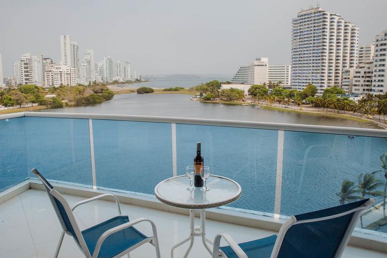 Apartamentos Laguito Azul - Vista al Mar, Cartagena de Indias