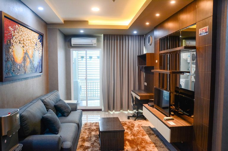 Modern and Comfortable 2BR Gallery West Apartment, Jakarta Barat