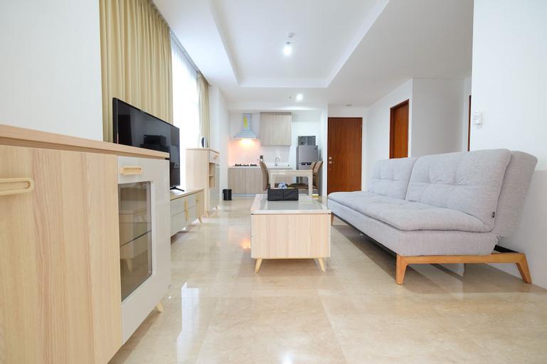 Modern 2BR Puri Park View Apartment By Travelio, West Jakarta