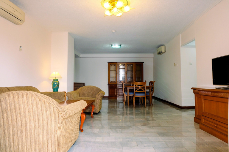 Prime 3BR Senopati Apartment close to SCBD, South Jakarta