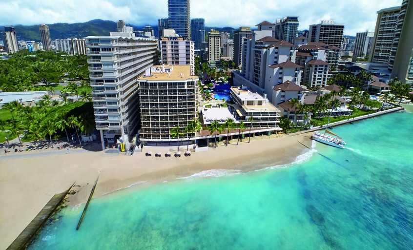 Outrigger Reef Waikiki Beach Resort, Honolulu