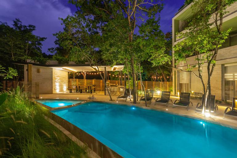 Villa Parota 2BR Nature Views - Attha Cenote, Cozumel