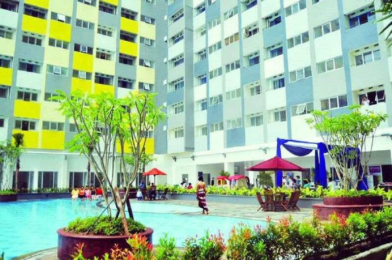 2BR Modern and Pool View Apartment at Sentra Timur Residence By Travelio, East Jakarta