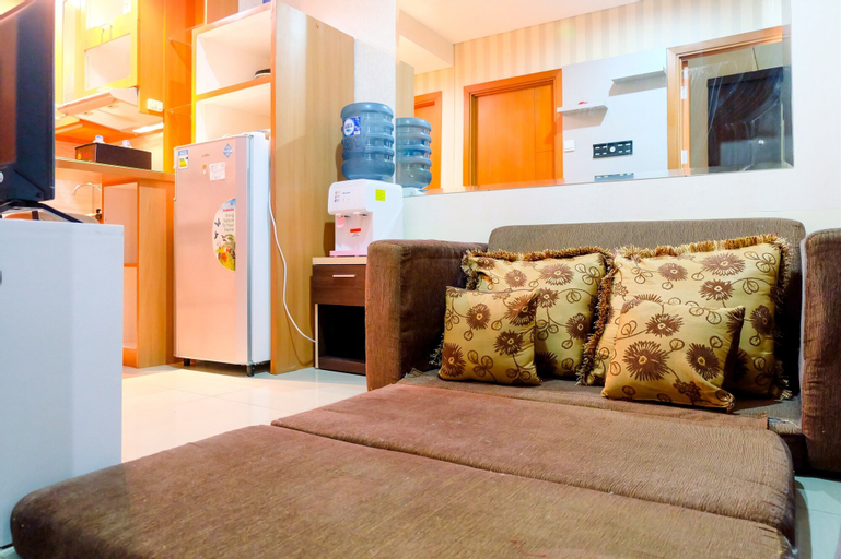2BR Apartment with City View @ Woodland Park Residence By Travelio, South Jakarta