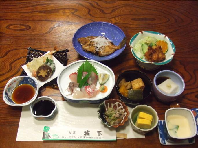 New Hotel Tamaya, Usuki