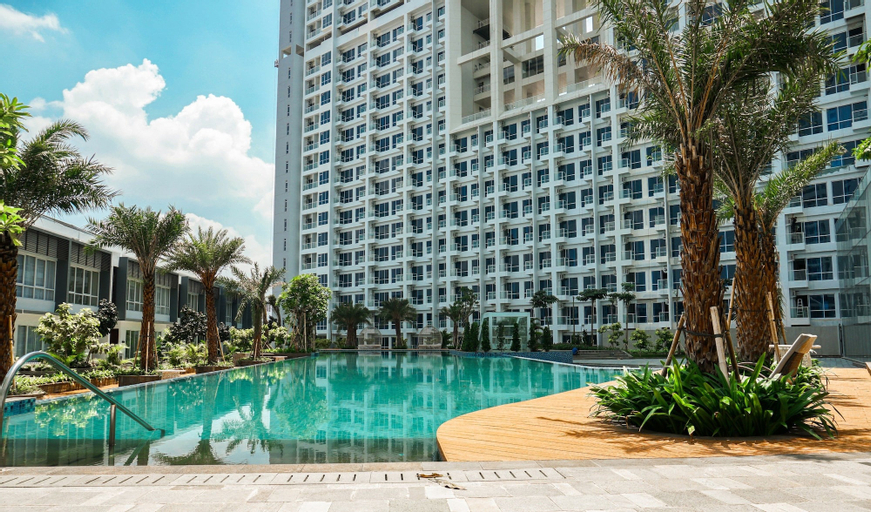 Affordable 1BR Puri Mansion Apartment By Travelio, Jakarta Barat