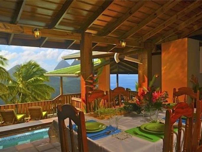 Piton Deck Villa,