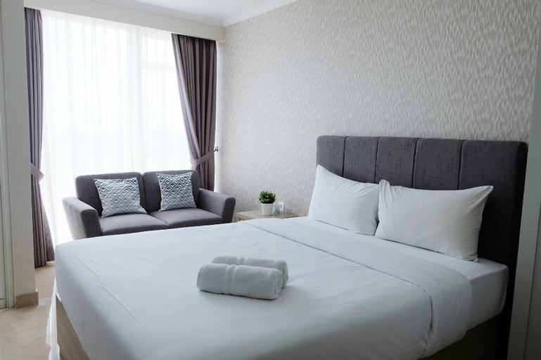 Comfy Studio Apartment at Menteng Park By Travelio, Central Jakarta