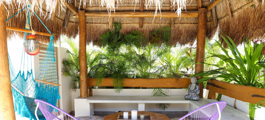 Chalet 2 BRM Penthouse private roof sleeps 4, Cozumel