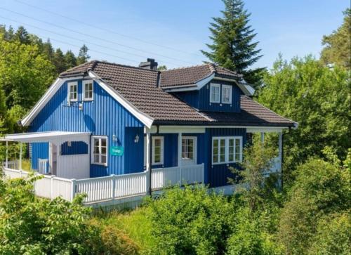 Bla huset, Porsgrunn