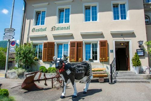 Gasthof National, Lebern