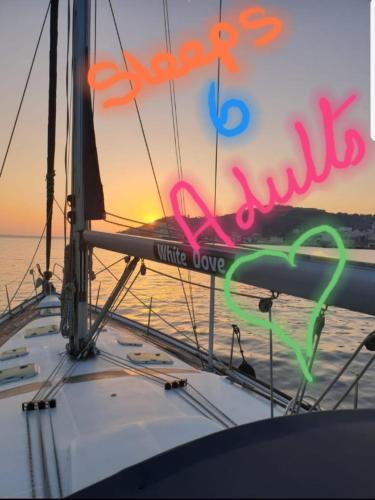 "Luxury Yacht Boatel - ""White Dove"", Gibraltar"