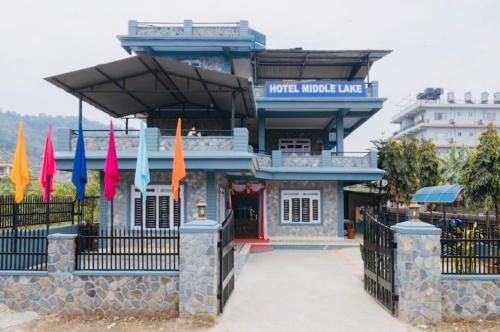 Hotel Middle Lake Pohara, Gandaki