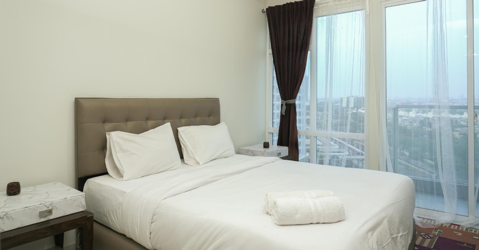 Exclusive and Cozy Studio Puri Mansion Apartment By Travelio, Jakarta Barat