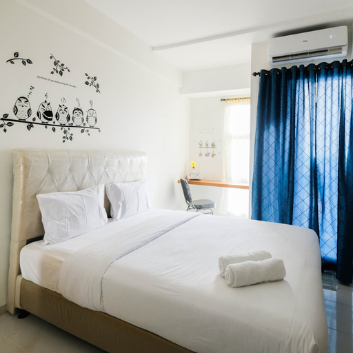 Minimalist Studio Apartment at Akasa Pure Living BSD By Travelio, Tangerang Selatan