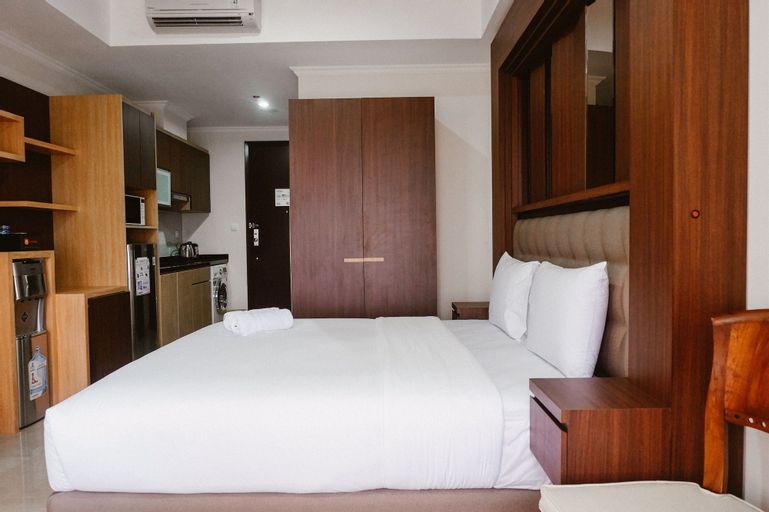 Studio at Menteng Park Apartment with City View, Central Jakarta
