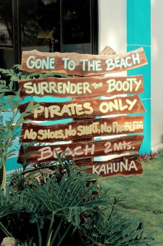 Chickie's Seaside Inn, Pandan