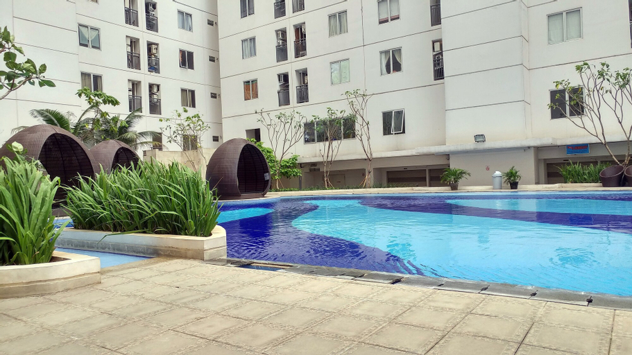 Simply 2BR with Pool View Bassura City Apartment By Travelio, East Jakarta