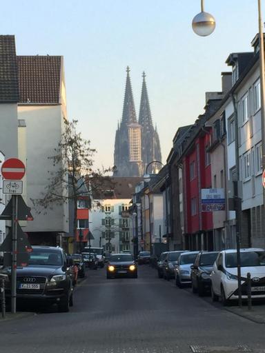 LuxHansa, Köln