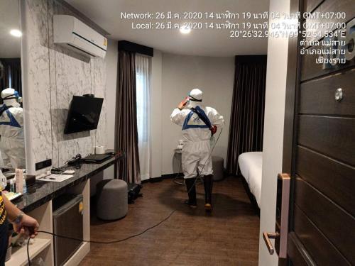 Orasa hotel, Mae Sai