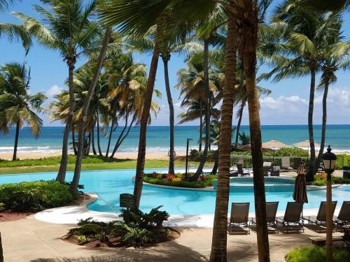 Beachfront Villa in the Rio Mar Resort,