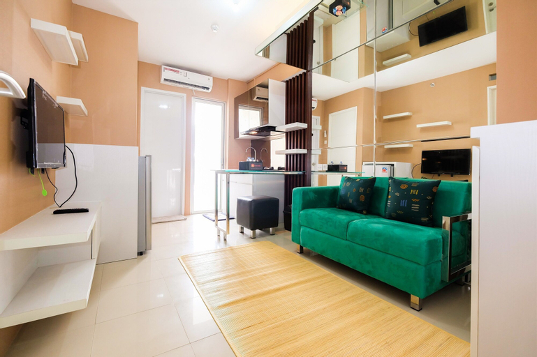 2 BR Bassura City Apartment with Mall Access By Travelio, East Jakarta