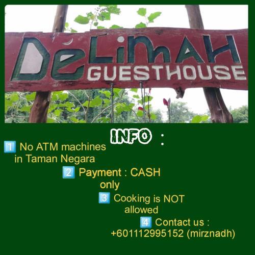 Delimah guesthouse, Jerantut