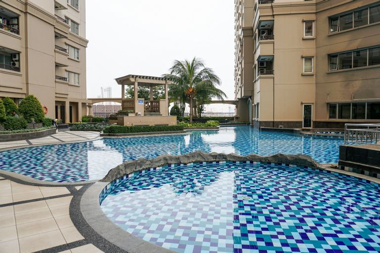 Cozy 2BR Mediterania Ancol Apartment, North Jakarta