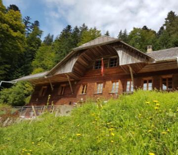 Emmentaler Schlafkase unter freiem Sternenhimmel, Trachselwald