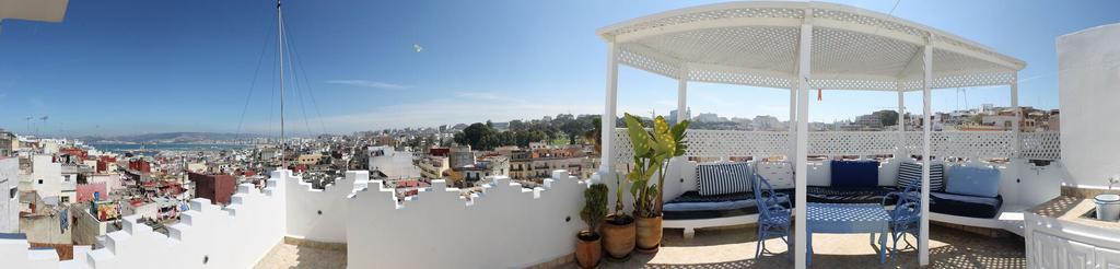 Maison dans médina terrasse panoramique, Tanger-Assilah