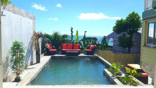 Villa with 6 bedrooms in Sainte-Luce, with wonderful sea view, private pool, furnished terrace - 2 k, Basse-Pointe
