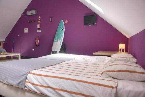 House with one bedroom in Peniche with wonderful sea view and WiFi 100 m from the beach, Peniche