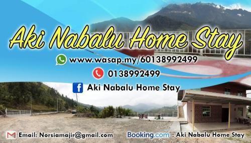 Aki Nabalu Home Stay, Ranau