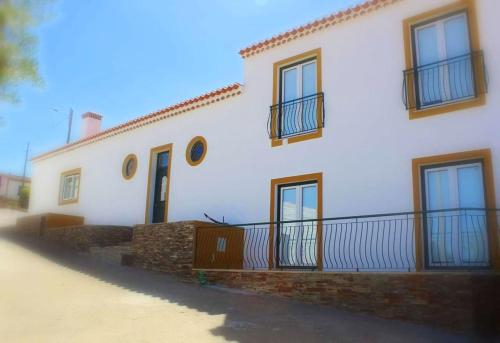 House with 7 bedrooms in Corte de Pao E Agua with enclosed garden and WiFi, Mértola
