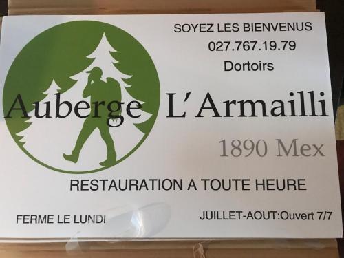 auberge de l'armailli, Saint-Maurice