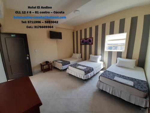 Hotel El Andino, San José de Cúcuta