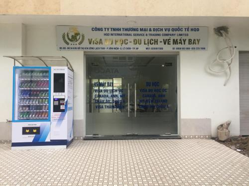 Khu pho Water Front, Lê Chân