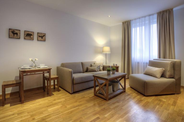 Brzece Center Apartments, Brus